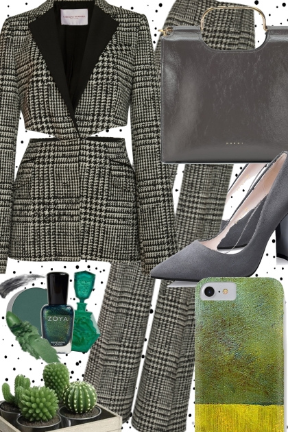 JADE AND GRAY FOR THAT BIG MEETING