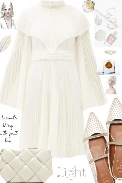 :`:`;` WHITE DRESS
