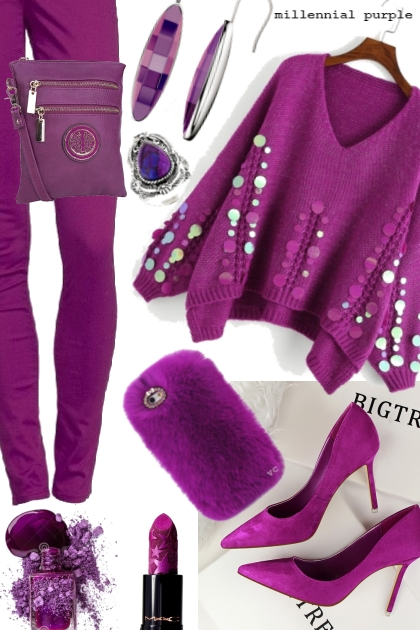 millennial purple- Fashion set
