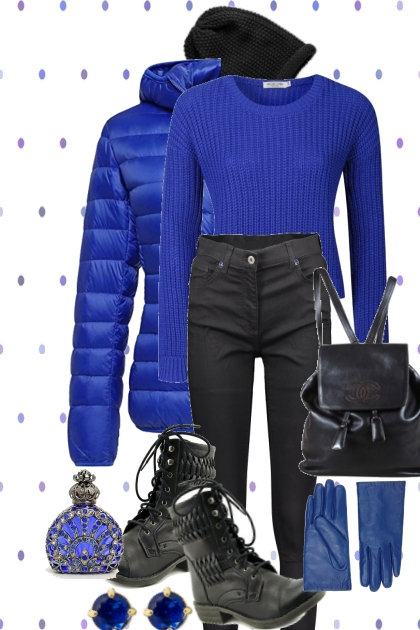 FREEZING COLD FRIDAY- Fashion set