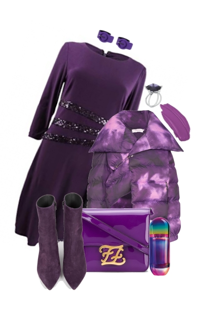 PURPLE FAVORITES ON TREND ME