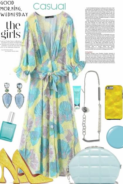 TREND ME DRESS : GARDEN PARTY