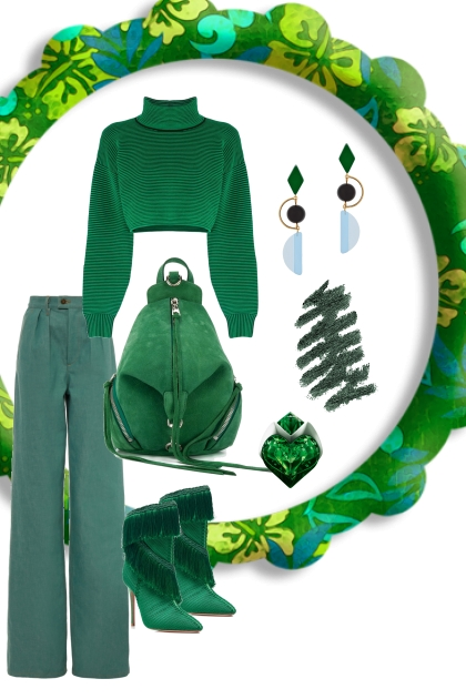 GREEN MONOCHROME: TREND ME FAVORITES