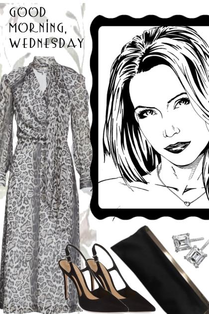 WEDNESDAY'S WOMAN- combinação de moda