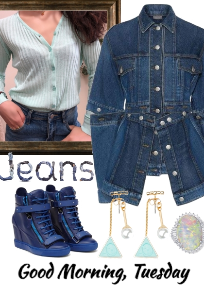TREND ME JEANS AND SHIRT 32420