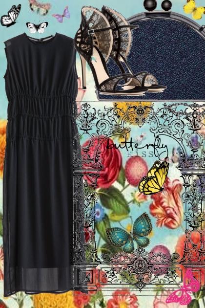 SLEEVELESS BLACK DRESS 3312020