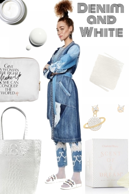 DENIM AND WHITE FOR SPRING 2020
