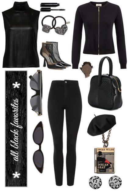 AN ALL BLACK ENSEMBLE