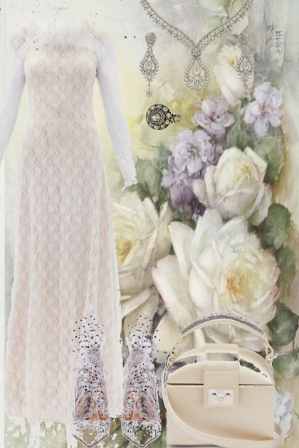 THE SCENT OF A WHITE ROSE- Fashion set
