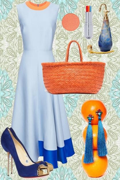 ORANGE, BLUE AND BLUE