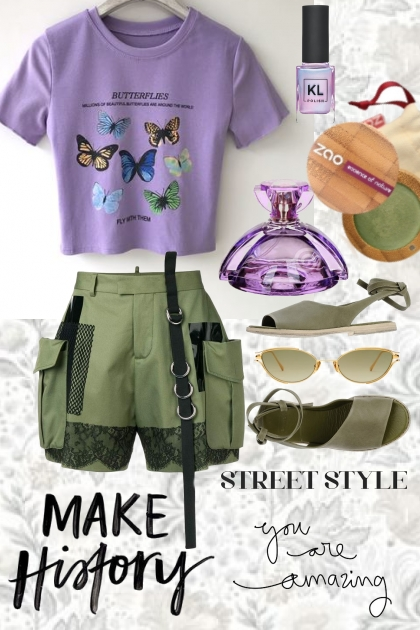 TREND ME TOP WITH SHORTS FOR SUMMER