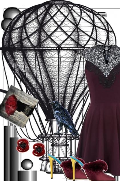 LACE COLLAR DRESS 2020