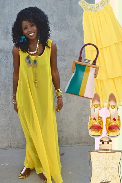 YELLOW TANK DRESSES FOR BRIGHT SUMMER OF 2020