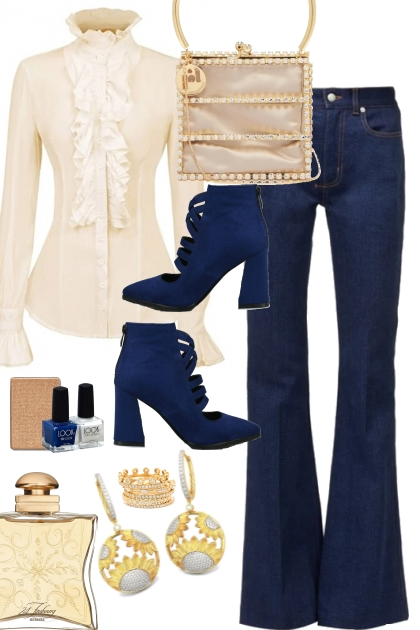 FALL JEANS OUTFIT