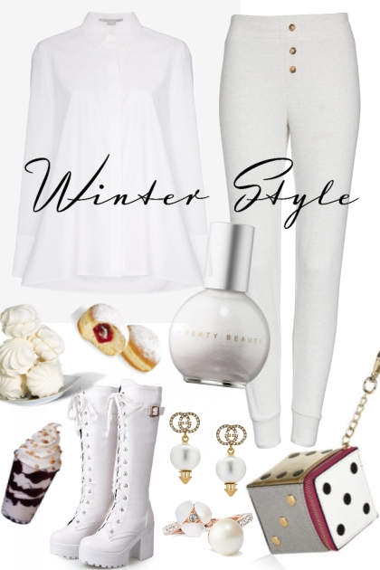 THE WINTER WHITE OF OUR CONTENT