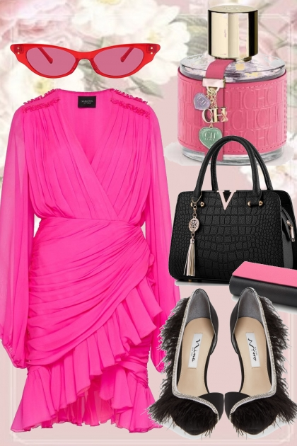 AUTUMN PINK AND BLACK :`:`: