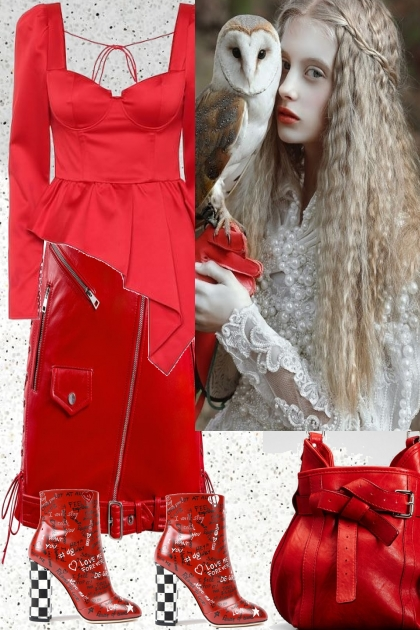 RED WISDOM- Fashion set