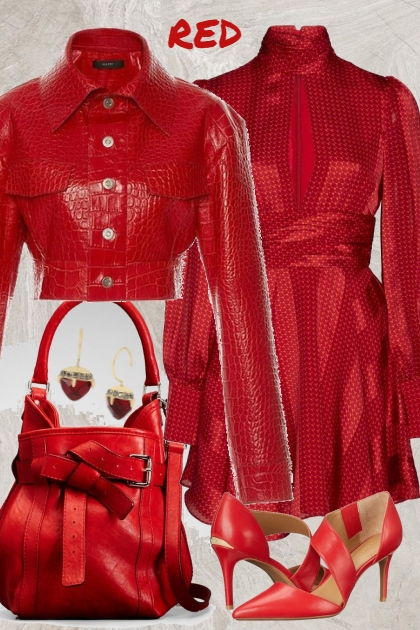 RED OUTFIT FOR 9232020