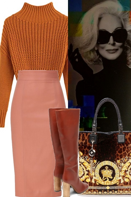 GOLDEN SWEATER FEATURED ON TREND ME
