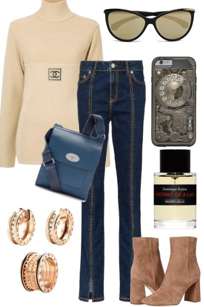 CASUL JEANS OUTFIT 11720- Fashion set