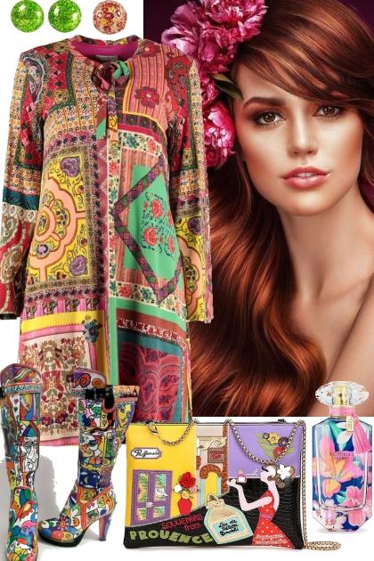LITTLE MISS COLORFUL- Fashion set