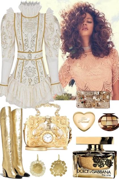 GOLDEN AIR- Fashion set