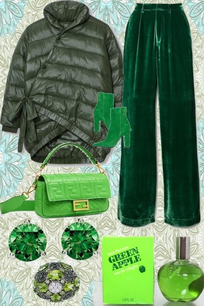 LIKE A GREEN APPLE- Combinaciónde moda