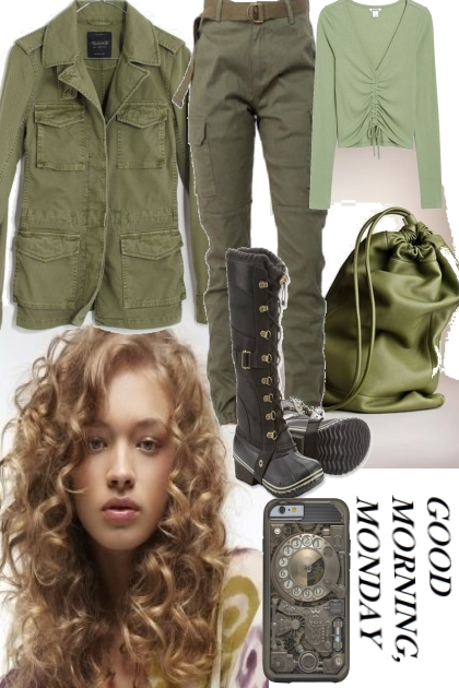 ARMY GREEN IN WINTER 2020 - 2021