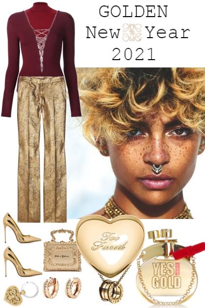 GOLDEN NEW YEAR, 2021 !