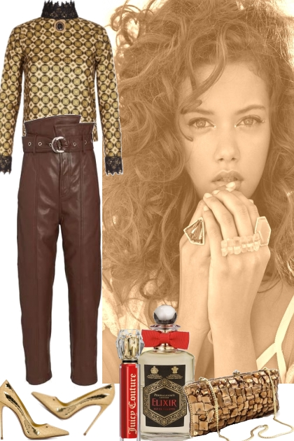 CASUAL GOLD AND BROWN 2272021