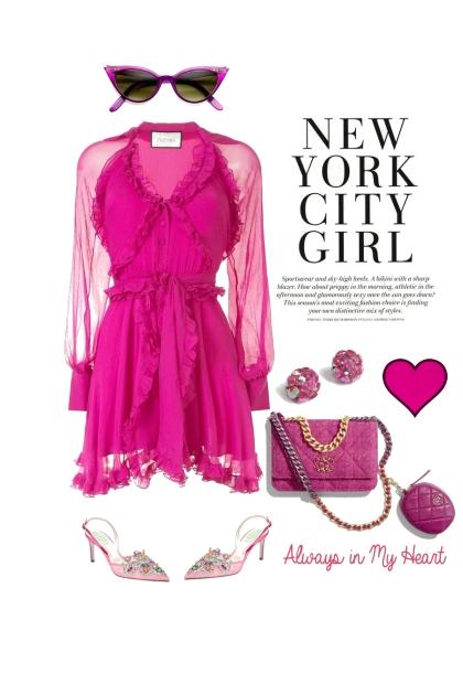 PINK CITY GIRL- Fashion set