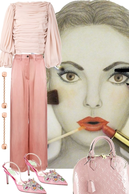 ~ PINK SPRING ~- Fashion set