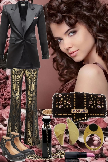 BLAZER AND PANTS FOR COOL SPRING OF 21