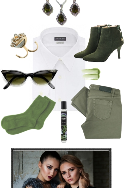 THE WHITE SHIRT ~ FOR FALL AND WINTER