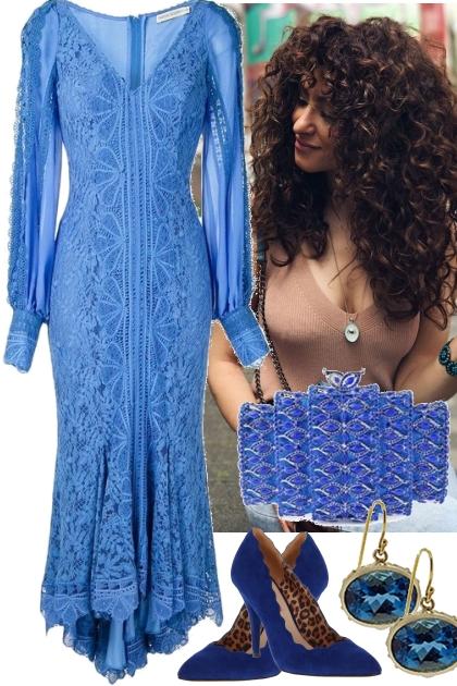 101321 -------------- BLUE DRESS