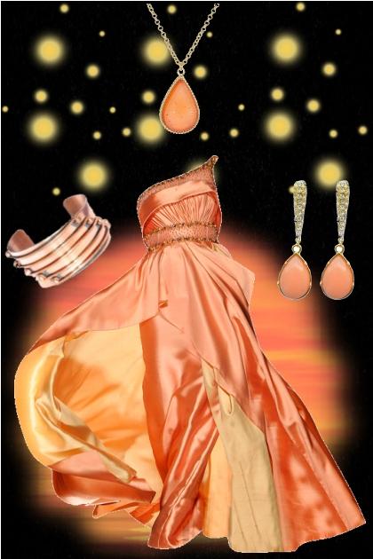 orange elegant