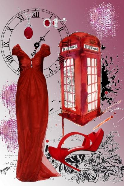 Red Phone- Fashion set