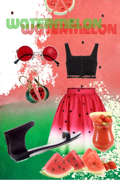 watermelon & summer