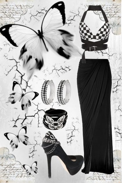 Black and White butterfly :)