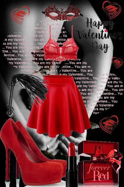 Sexy valentine's day evening! :)