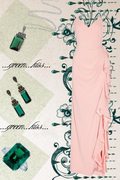 Emerald...green...kiss...elegant...
