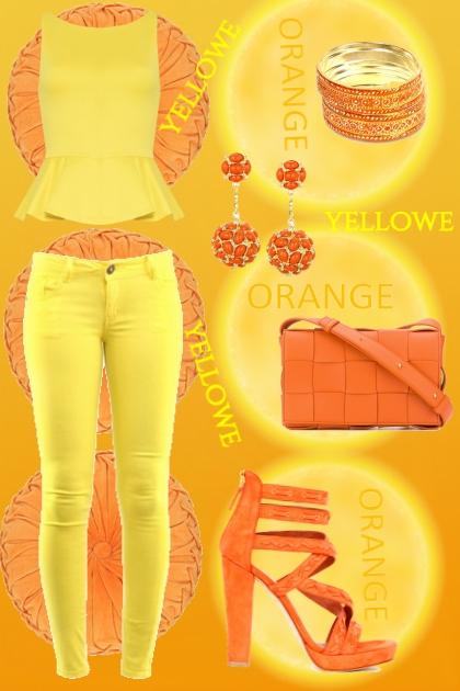 Yellowe and Orange day :)