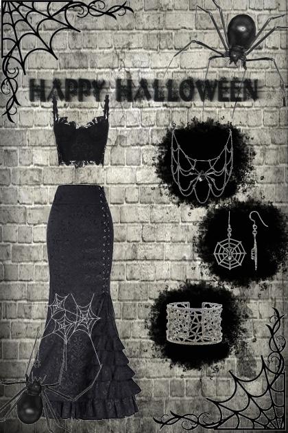 Happy Halloween spiders :)