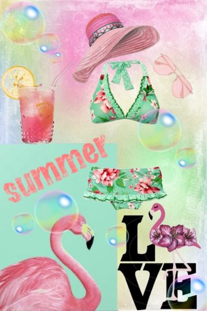 Summer...Flamingo...Love :)