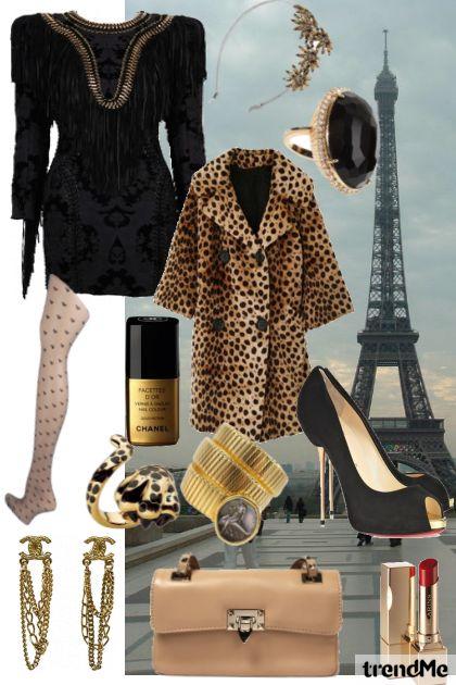 Street Style of Parisian's look