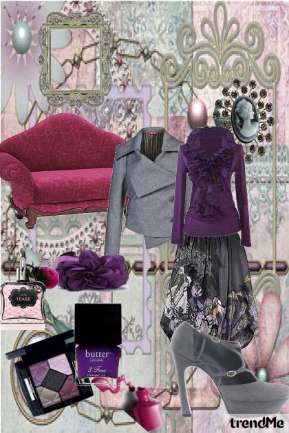 evening in purle&gray