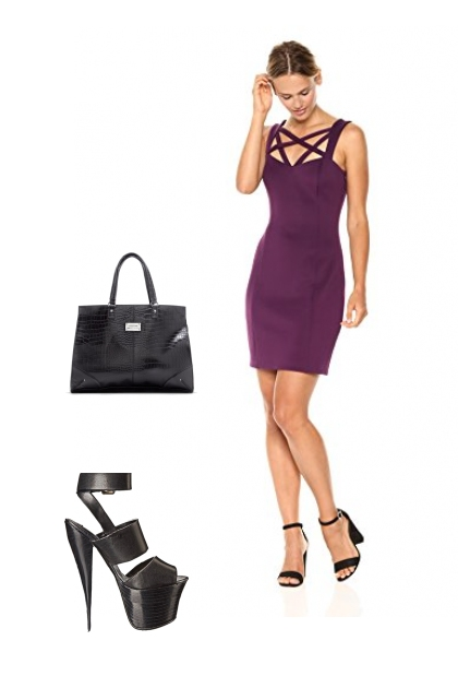 Purple Bodycon