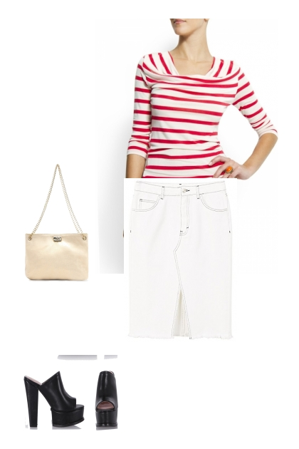 Nautical: shorts or skirt? Who knows, who cares!