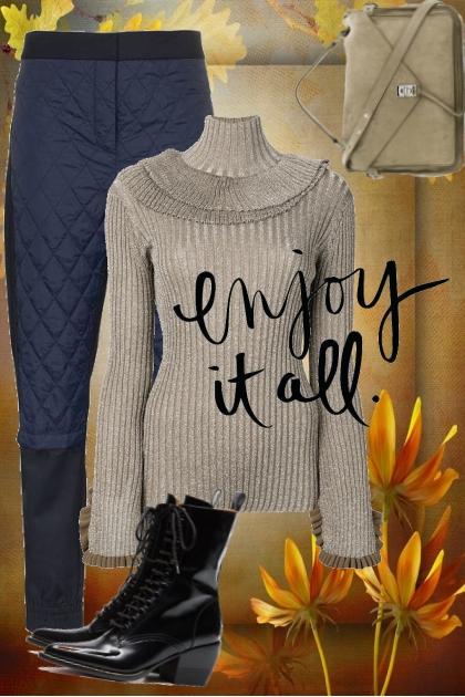 Enjoy it all- Fashion set