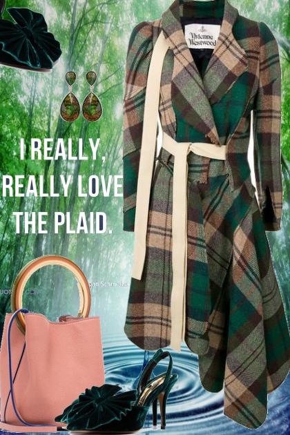 I love the plaid